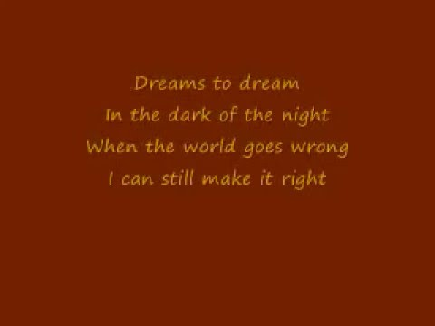 'Dreams To Dream' Lyrics Fievel Goes West