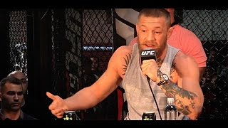 Conor McGregor Calls Nate Diaz a Cholo Gangster