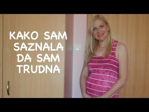 Kako sam saznala da sam trudna i prvi simptomi
