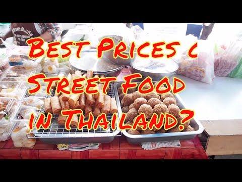 Best Street Food Prices in Thailand?