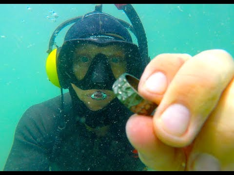 🇨🇭RIVER TREASURE  👑 FOUND PRICELESS RING METAL DETECTING (LAKE LUZERN)