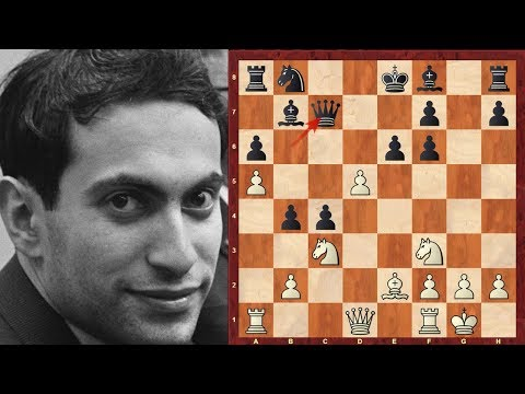 Mega-exciting and intensely complex double edged game: Mikhail Tal vs Dieter Keller : Zurich (1959)