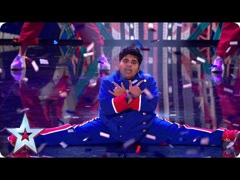 Amazing Akshat Singh dances up a storm! | Semi-Finals | BGT 2019