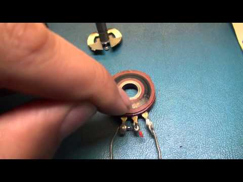 How Do Potentiometers Work And How To Service Them. Cleaning Volume Controls