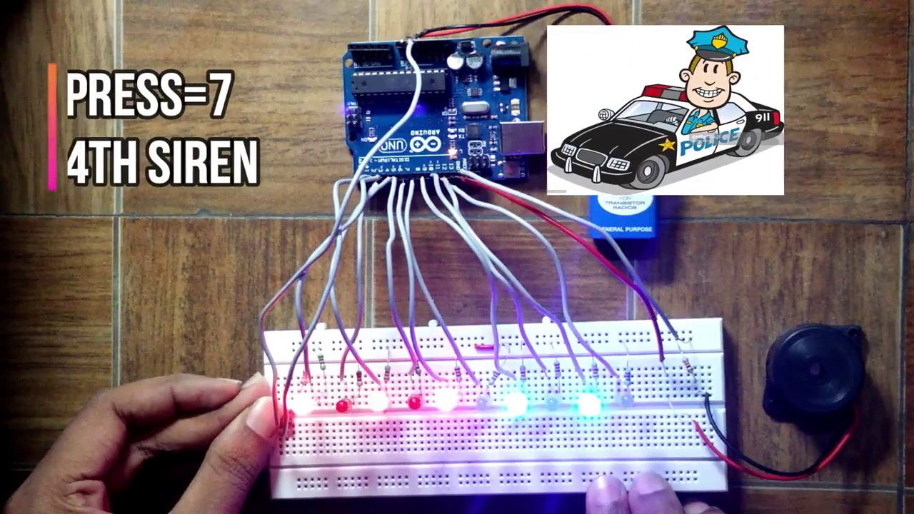 How to Make a Siren Using Arduino: 4 Steps