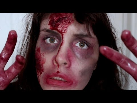 Maquillage zombie halloween sans latex ni faux sang youtube - Maquillage halloween latex ...
