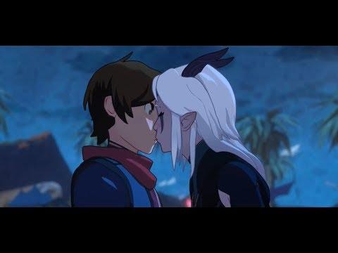 Kallum and Rayla Kiss || The Deagon Prince Season 3