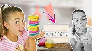 Try Making Tasty Macaron Dessert