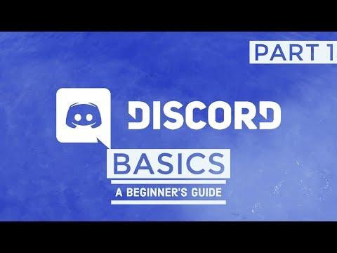 DISCORD BASICS |  PART 1 | ENGLISH