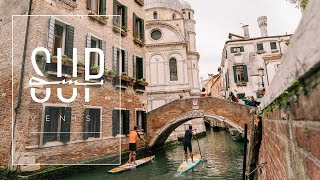 SUPin' Venise - Stand Up Paddle en Italie 4K - Teulade Brothers