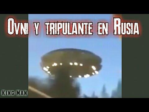 Graban Ovni en hotel de Rusia y su tripulante Alienígena
