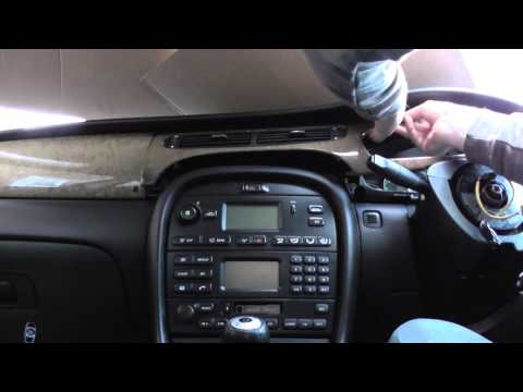 Jaguar X Type Vent Removal For Heating & Air Conditioning