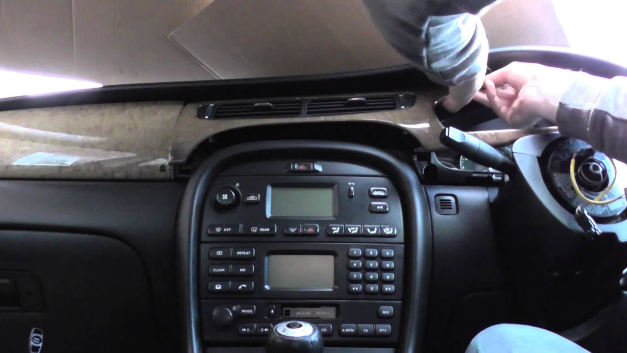 Jaguar X Type Vent Removal For Heating Amp Air Conditioning