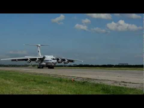 Ил-78М: посадка 'по-афгански'