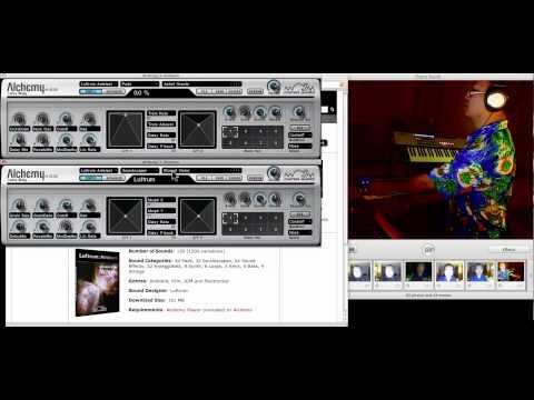 PROJECT PRESET - Luftrum Ambient soundbank for Camel Audio Alchemy