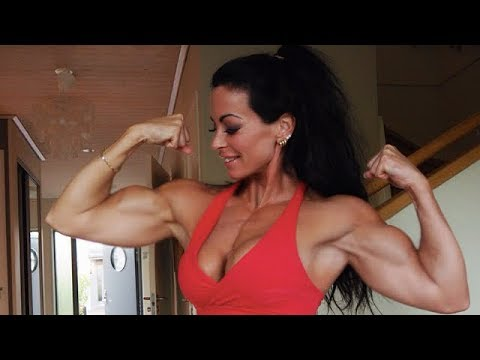 Ripped Muscles Girl | Adriana Kuhl Workout | Female Bodybuilding Fbb