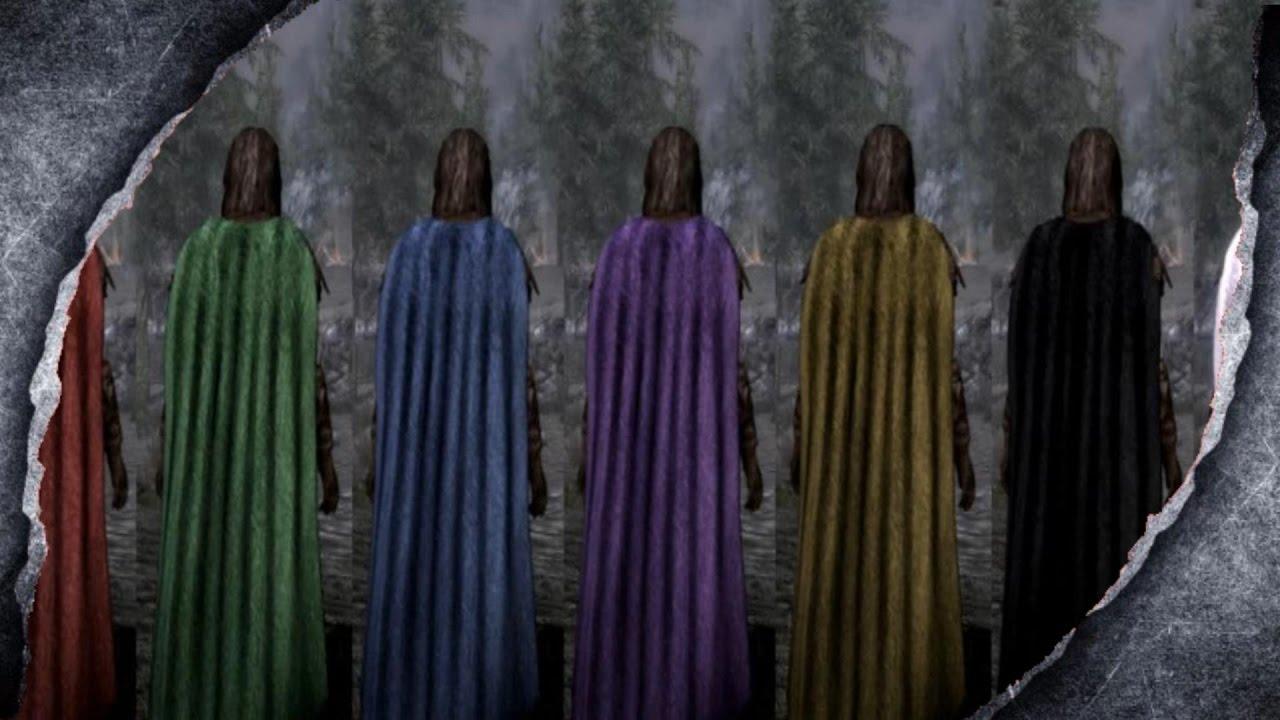 Skyrim Remastered Cloaks Capes Mod Showcase W Killerkev Youtube