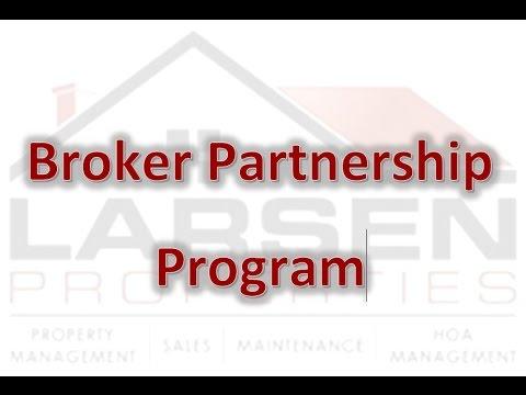 San Antonio Property Management Company's Broker Partnership Program
