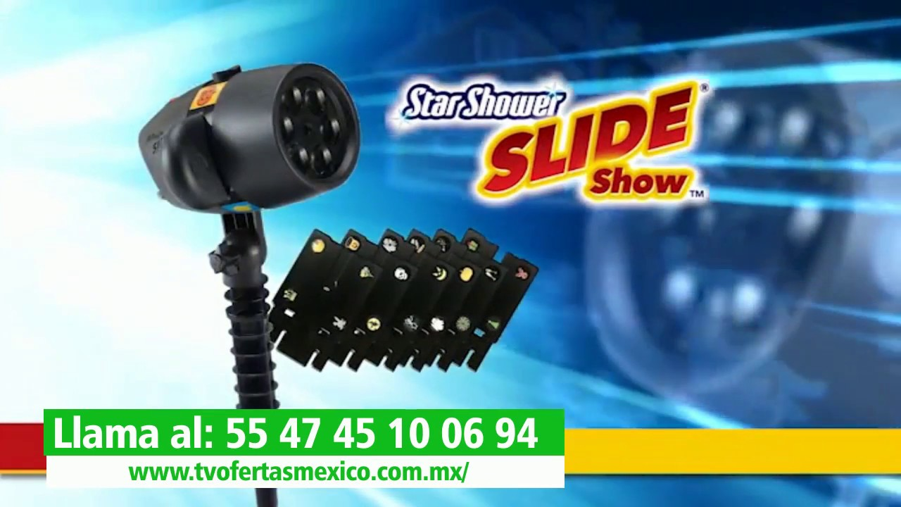 c776bcf3614 Proyector De Diapositivas Star Shower Slide Show - YouTube