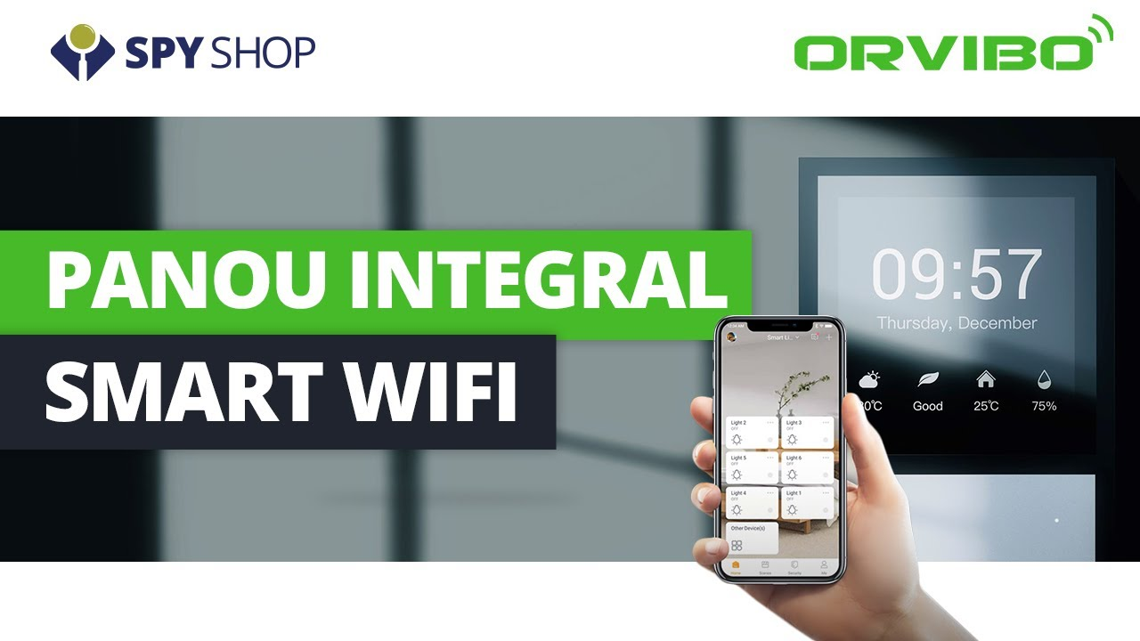 Orvibo MixPad Panel - panou smart WiFi