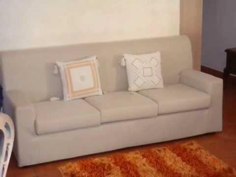 divano rb salotti sfoderabile poco profondo - YouTube