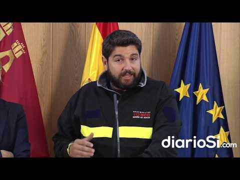 López Miras: «la pesadilla desgraciadamente no ha terminado aún»