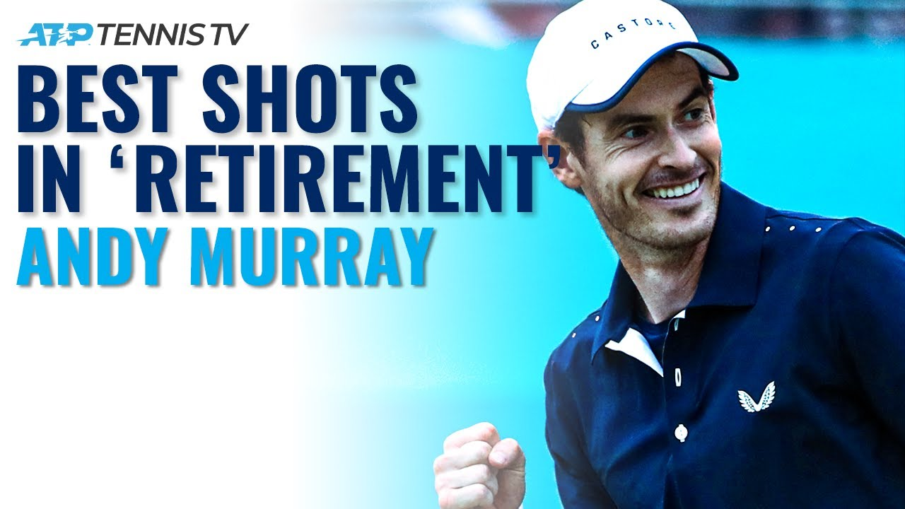 "Andy Murray Best Shots In ""Retirement"" 👀"