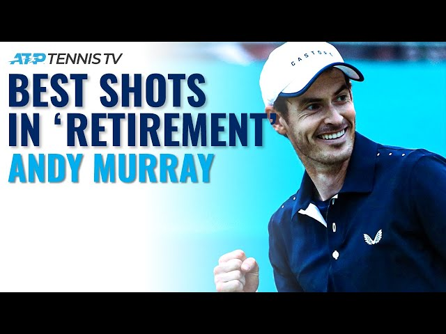 Andy Murray Best Shots In