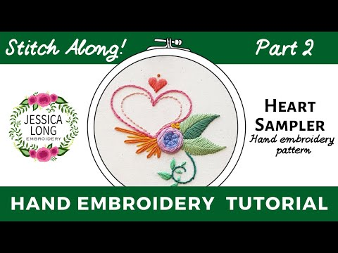 Embroidery Sampler Part Two