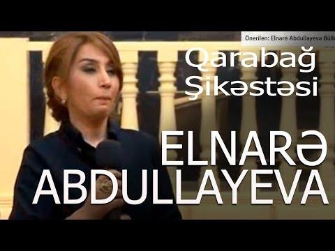 Elnarə Abdullayeva Qarabağ Şikəstəsi Xəzər Tv 5\\5 Verlişi 13.04.2016