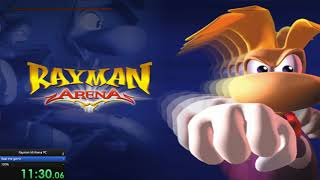 Rayman M/Arena Beat the game and 100% Speedrun