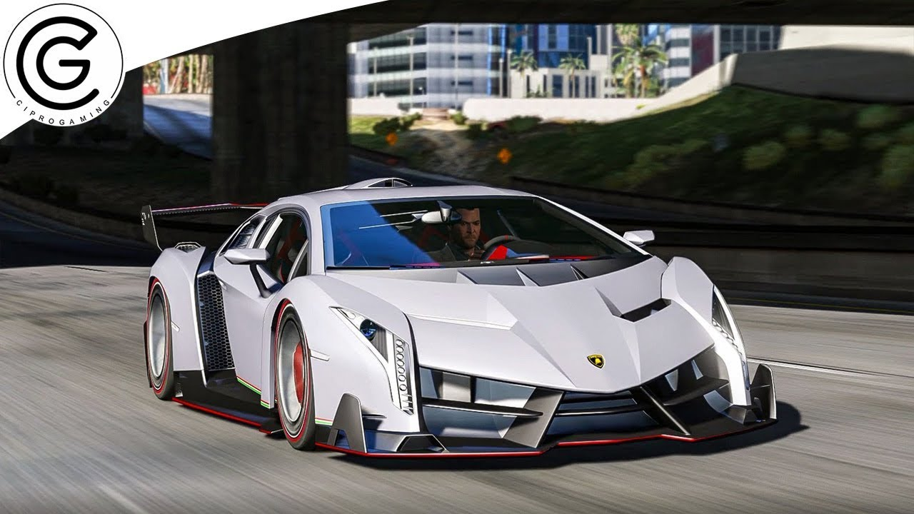 GTA V Realistic Graphics   Lamborghini Veneno   M.V.G.A. 2.65 U0026 Redux 1.3  Gameplay ! 1440p 60FPS