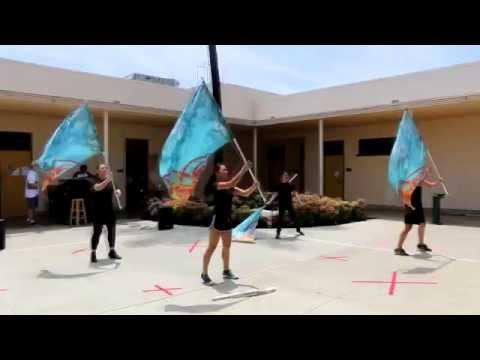 Salon Performances: Color Guard (SPHS 2015)