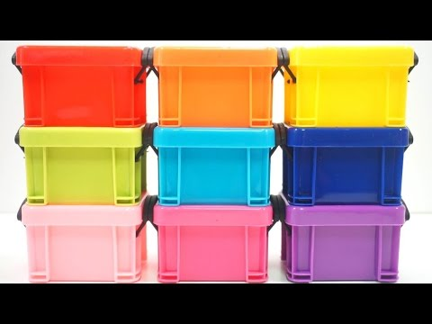 DIY Combine Colors Slime Clay Case Learn Colors Slime Coca Cola Syringe Glue Slime #faber