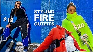 How To Turn BASIC Clothes Into FIRE OUTFITS! Part #1