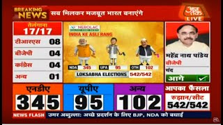 LIVE: Election Result 2019  : लोकसभा चुनाव के सबसे  तेज नतीजे  | DilliTak