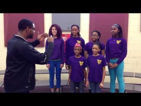 Brag Cam: Vine Middle Magnet School choral director