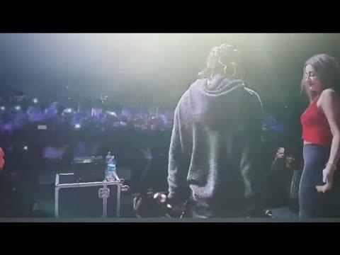 Emiway with viral Tik Tok girl Gima Ashi | Concert | Hot collection |
