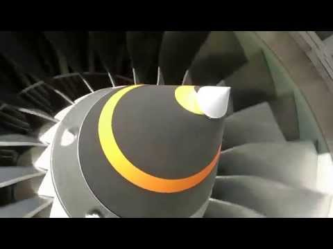 High Bypass Turbo Fan V2500 A5_Jet Engine Spinning I What's Up Pilot?