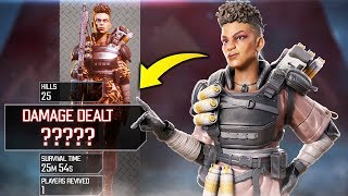 NEW DAMAGE *WORLD RECORD*!! - Best Apex Legends Funny Moments and Gameplay Ep 130