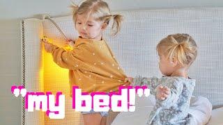 CRAZY TODDLER HOTEL SLEEPOVER