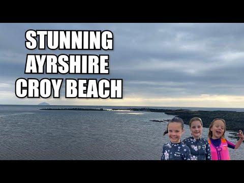The Ranch Caravan Site - STUNNING Ayrshire -  Croy Shore Beach - Scotland 2020