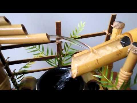 Miniatur Air Mancur Bambu Cendani Mayongan