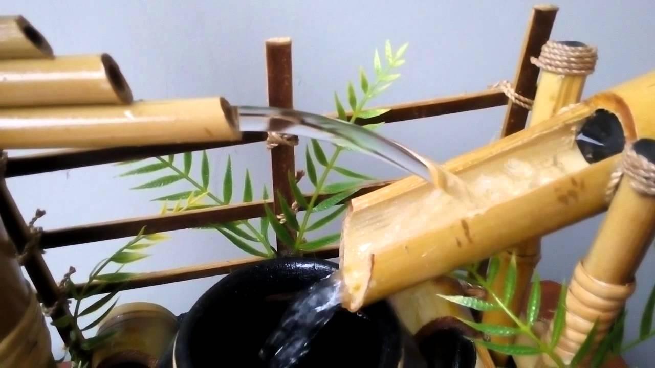 Kolam Ikan Portable Air Mancur Bambu Perkebunan Di Carousell