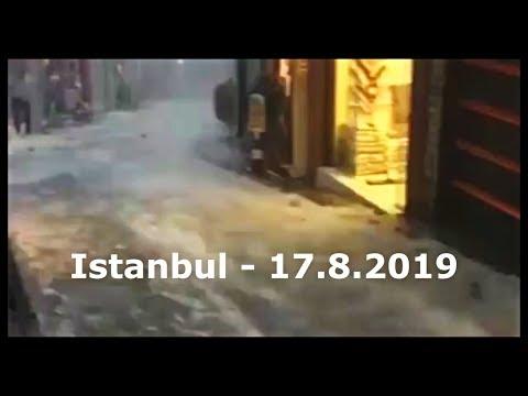 Istanbul Turkey Rain Floods