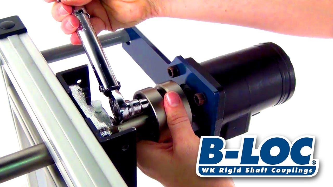 How to Install B-LOC WK Rigid Shaft Couplings