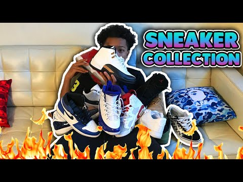 MY SNEAKER COLLECTION MAJOR HEAT !!! 🔥🔥 ( Updated )