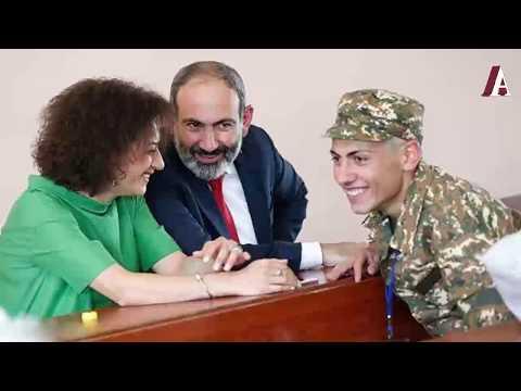 Сын Пашинян сбежал из Карабаха в Ереван