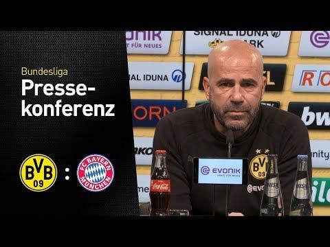 Livestream der Pressekonferenz vor dem Spiel gegen Bayern München