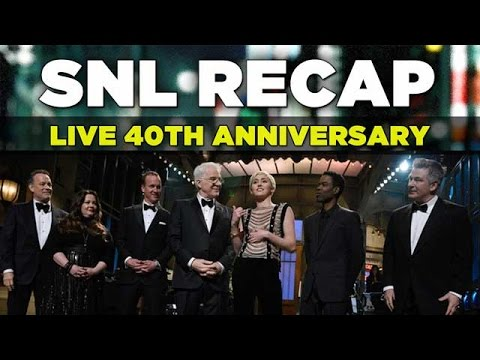 SNL 40th Anniversary Special Review   February 15, 2015   Saturday Night Live Recap